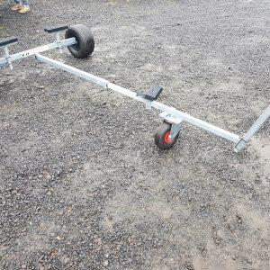 wózek slipowy,podłodziowy kalftrailers